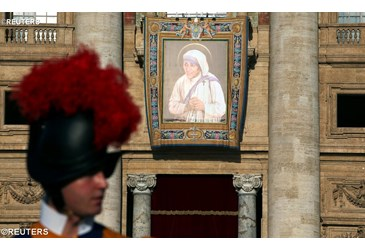 Homily for the Canonization of Mother Teresa